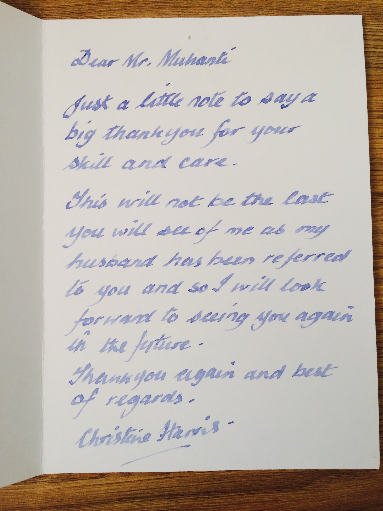 Testimony_Letter_Christine